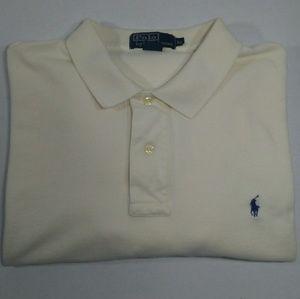 Polo Ralph Lauren Cream Long Sleeve XL